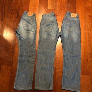 Levi's boys 3 jeans size 14